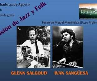 Glen Salgoud e Iván Sangüesa
